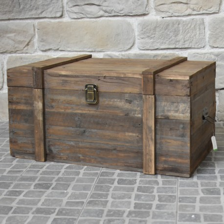 coffre malle bois ancien campagne brocante recycl ville haute provins. Black Bedroom Furniture Sets. Home Design Ideas