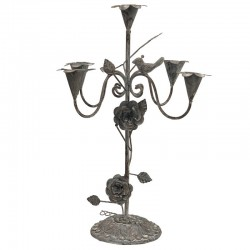 Bougeoir Chandelier de Table 5 Bougies 44 cm