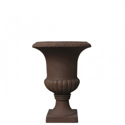 Vasque Pot Vase Cache Pot Médicis Marron 30 cm