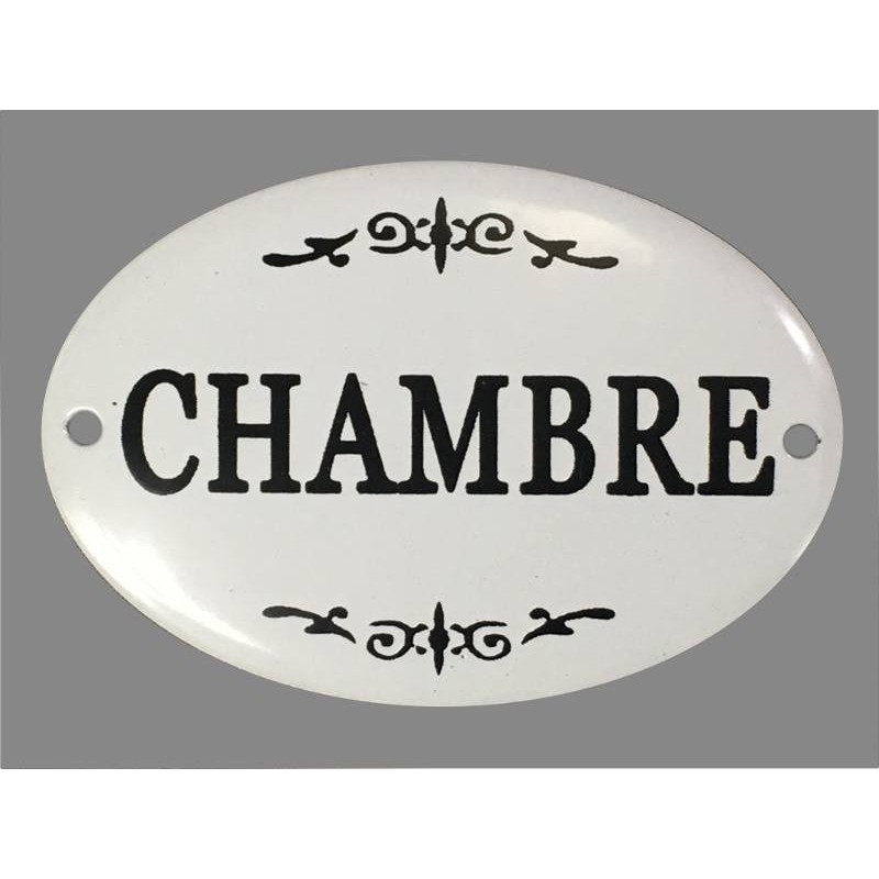 Plaque porte fer style maill chambre d coration murale for Plaque de porte decorative