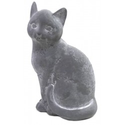 Statue Sculpture Chat en Ciment 25 cm