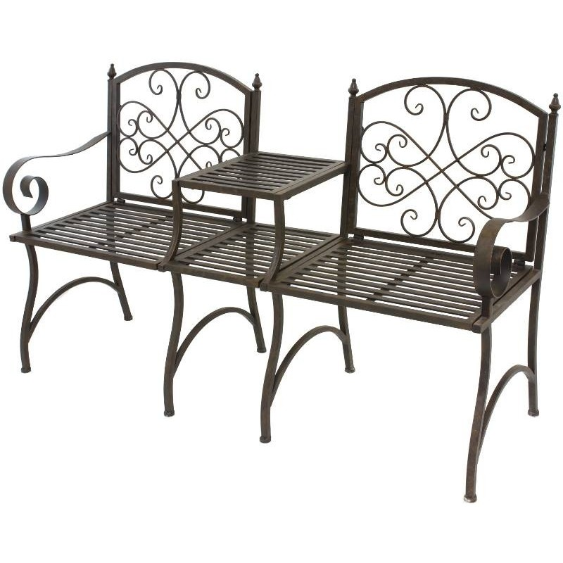 banc de jardin fer free banc de jardin fer with banc de. Black Bedroom Furniture Sets. Home Design Ideas