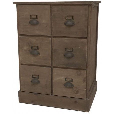 meuble semainier chiffonnier grainetier tiroir bois pin magasin provins. Black Bedroom Furniture Sets. Home Design Ideas