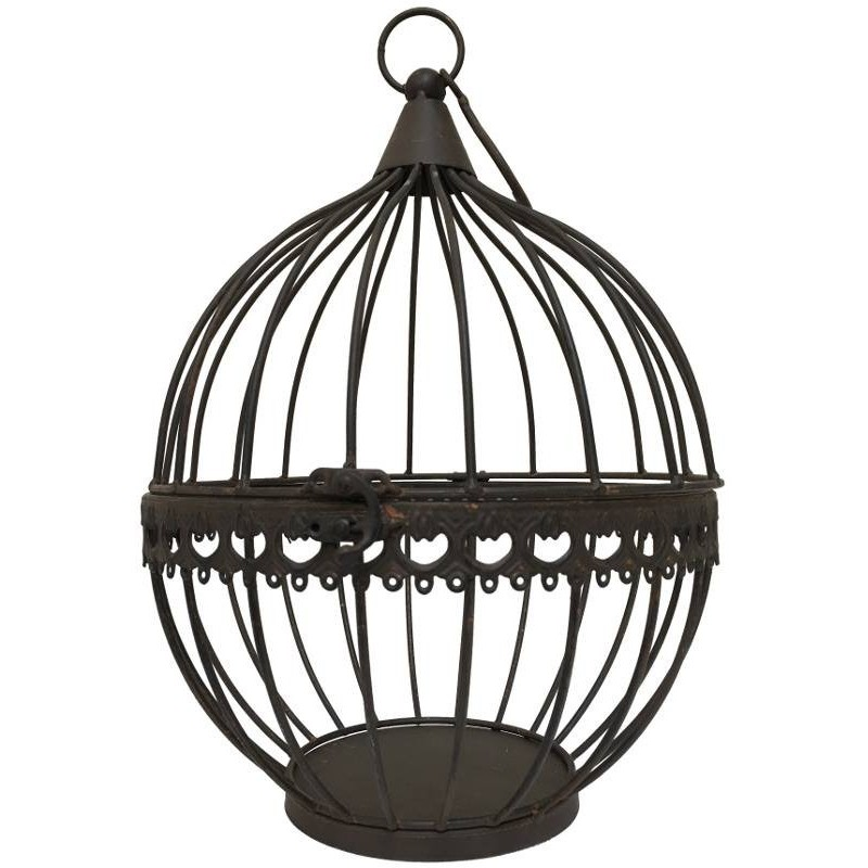 boule cage bougeoir porte bougie porte plante mural suspendre. Black Bedroom Furniture Sets. Home Design Ideas