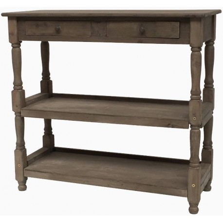 meuble console table drapier tiroir bois magasin cave provins. Black Bedroom Furniture Sets. Home Design Ideas