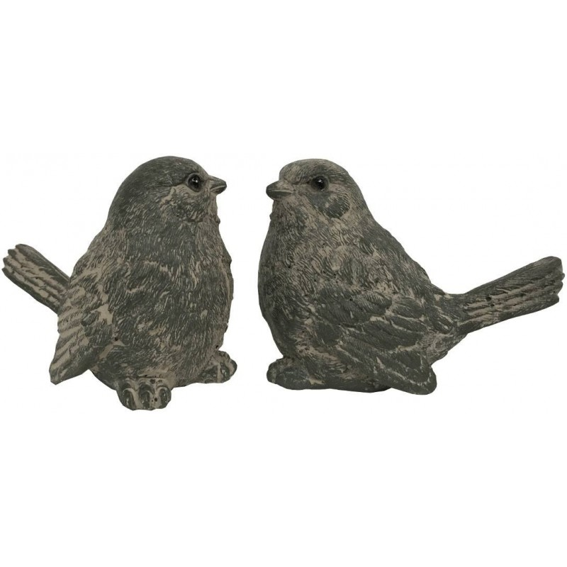 Statue sculpture oiseau r sine d coration for Oiseau decoratif jardin
