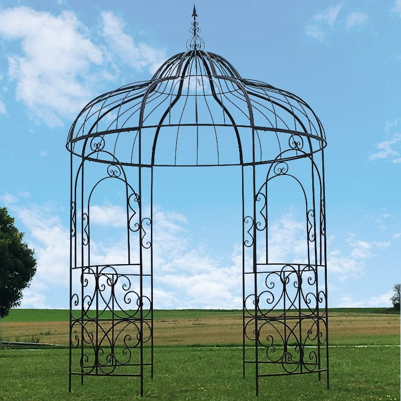 tonnelle pergola kiosque jardin fer magasin d co provins. Black Bedroom Furniture Sets. Home Design Ideas